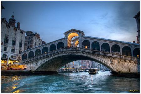 Rialto Bridge in Venice. Pinch.