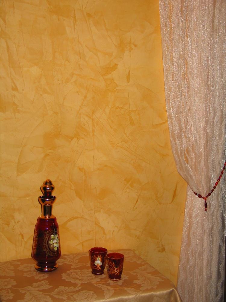 Veneziano Venetian Plaster Wine Room