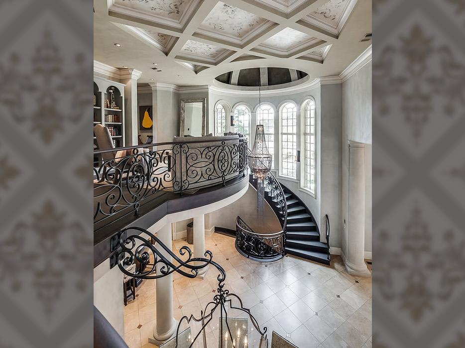 Real Venetian Plaster Transforms $5 Million Home