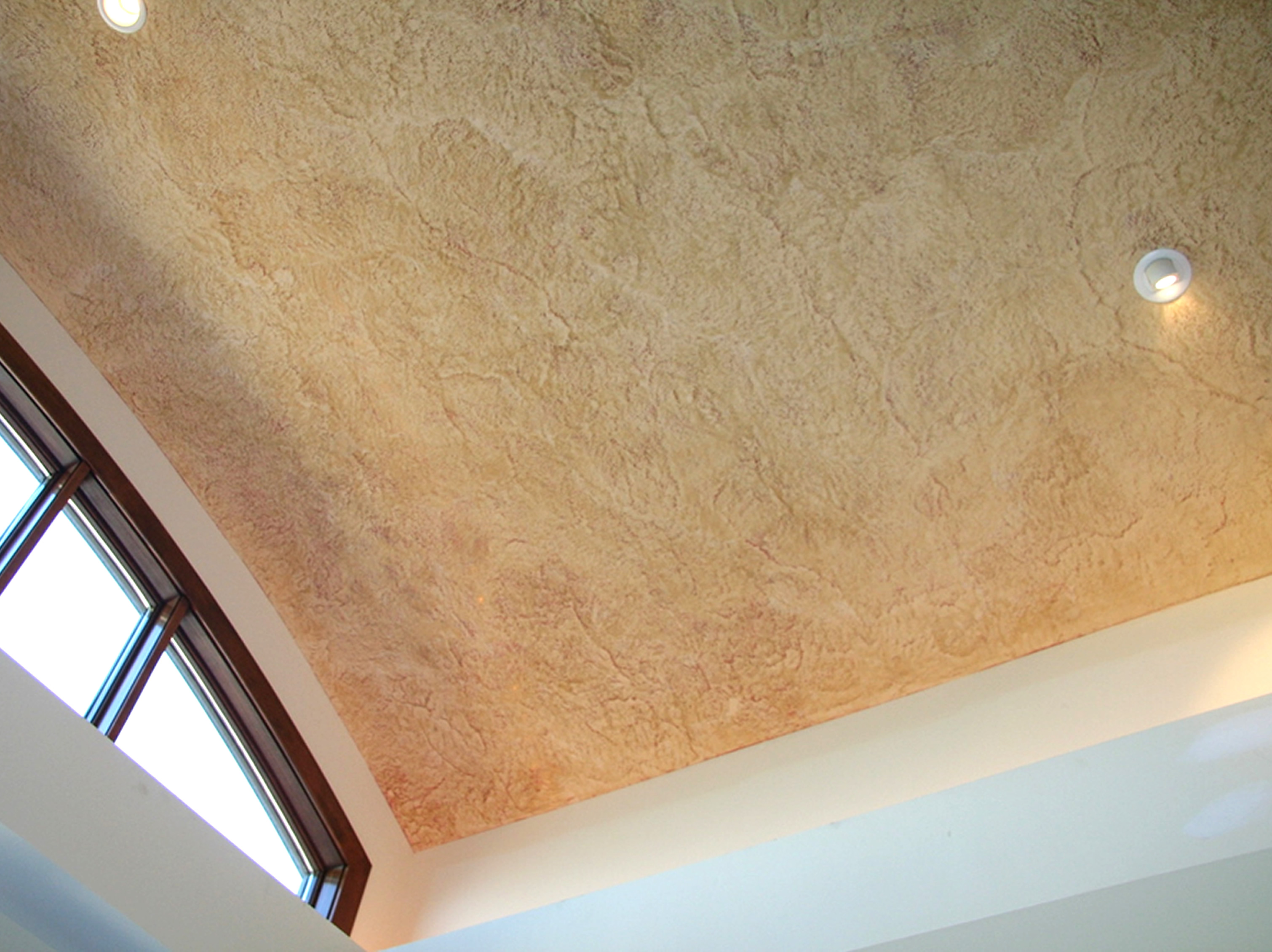 Mantovano Barrel Ceiling by Plaster Artistry