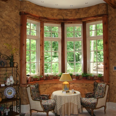 Marmorino Old Wall Venetian Plaster Finish in Kitchen / Keeping Room by Plaster Artistry
