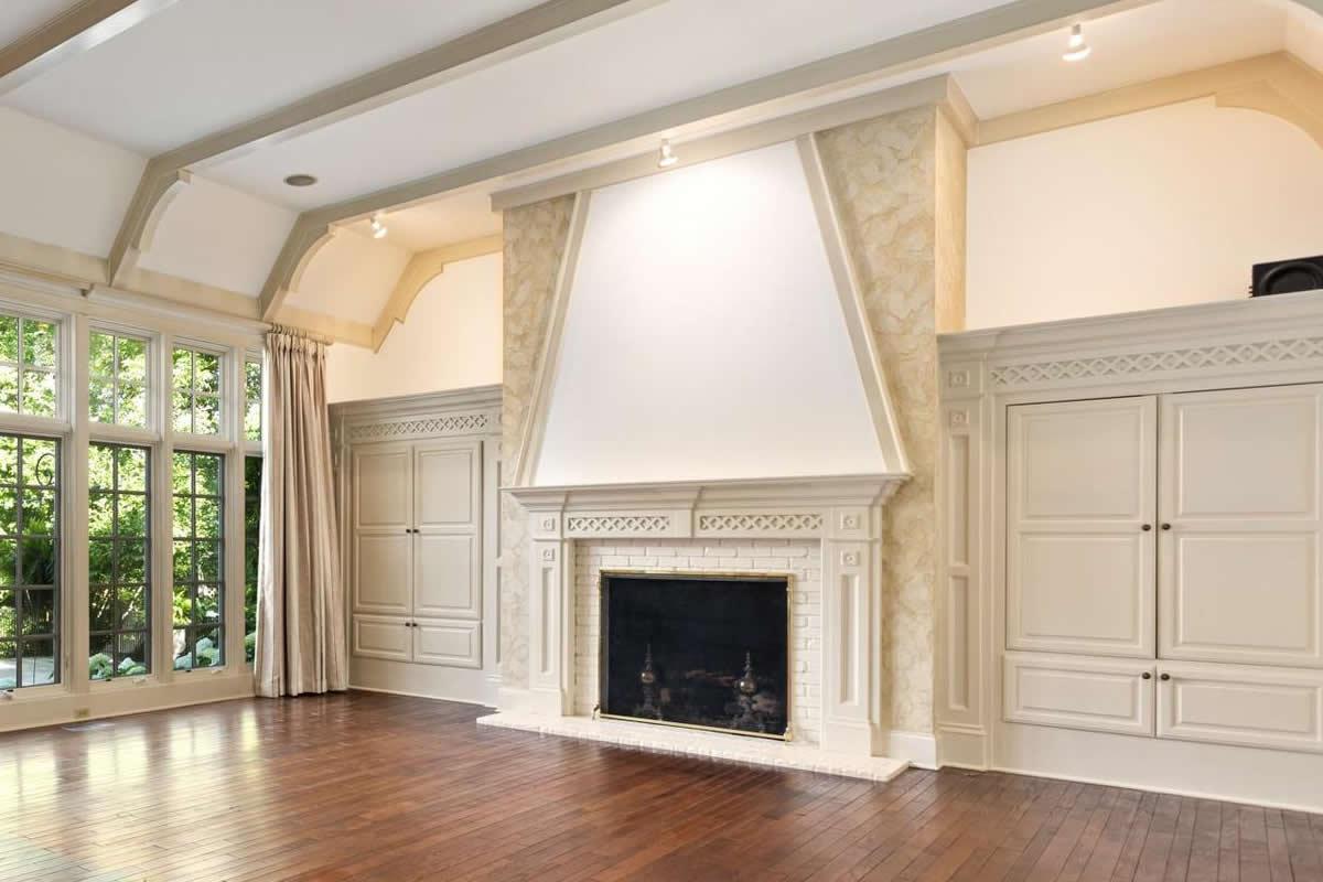 Venetian Plaster Fireplace by Plaster Artistry