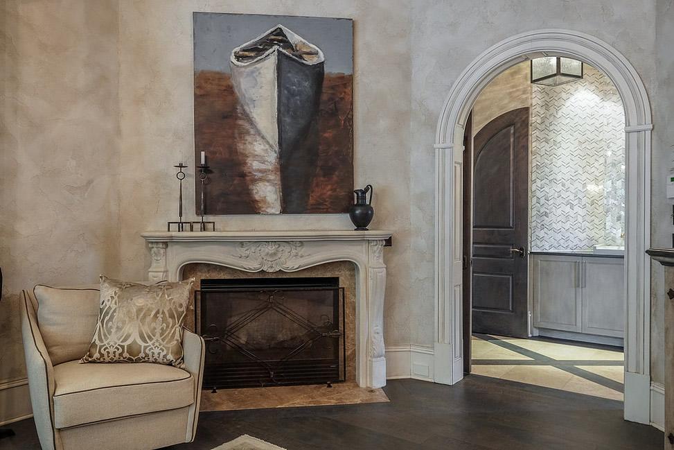 Venetian Plaster History - Venetian Plaster Bedroom Suite by Plaster Artistry