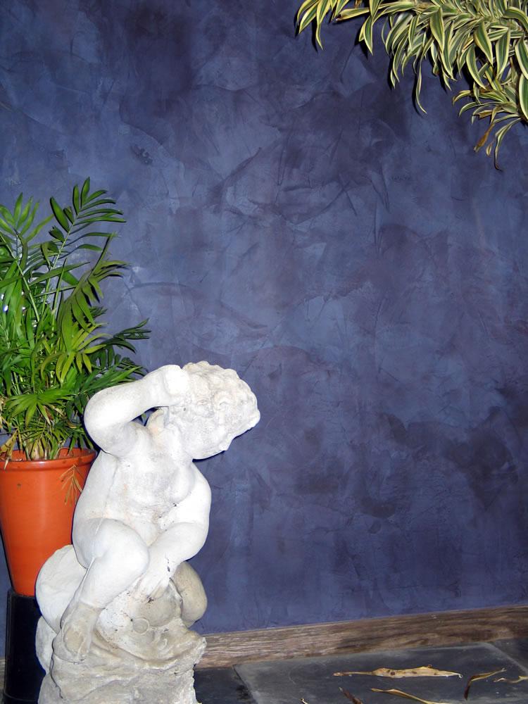 Dark Blue Veneziano Garden Room